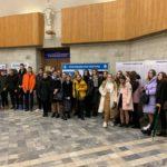 18 октября учащиеся 9б класса гимназии №505 посетили Санкт-Петербургский государственный университет промышленных технологий и дизайна