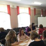 31 марта в гимназии №505 состоялся мастер-класс для кадрового резерва руководителей образовательных организаций Красносельского района Санкт-Петербурга