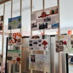 В гимназии №505 открыты две выставки, посвященные Дню Победы