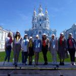 Учащиеся гимназии №505 приняли участие в съемках телевизионного фильма ко Дню славянской письменности и культуры